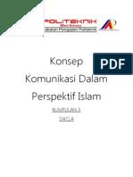 konsep komunikasi dalam perspektif islam