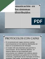 2 Comunicación  en los sistemas distribuidos
