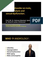 Fertility Disorder on Male - SILVIA