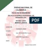 Marco Logico-juliaca Peru