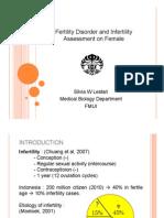 Fertility Disorder on Female - SILVIA