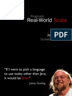 Pragmatic Real-World Scala
