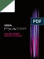 DIA Demi-Permanent Color Chart - 102 Shades