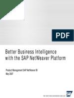 Better Business Intelligence