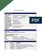 Handbook in Crm Good Practice Final Report