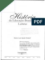 HISLDORF Hist Educ Bras cap 1 Os jesuítas