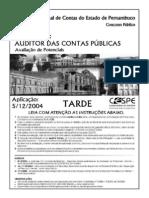 cespe-2004-tce-pe-AUSITOR DE CONTAS PÚBLICAS-prova