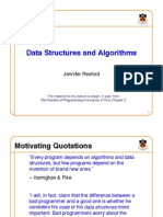 Datastructures and Algorithms