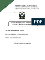 Informe Medicion Caudal Rio Chaupiuranga