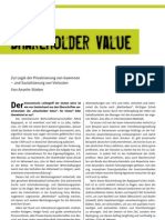 Stieber Shareholder Value[1]