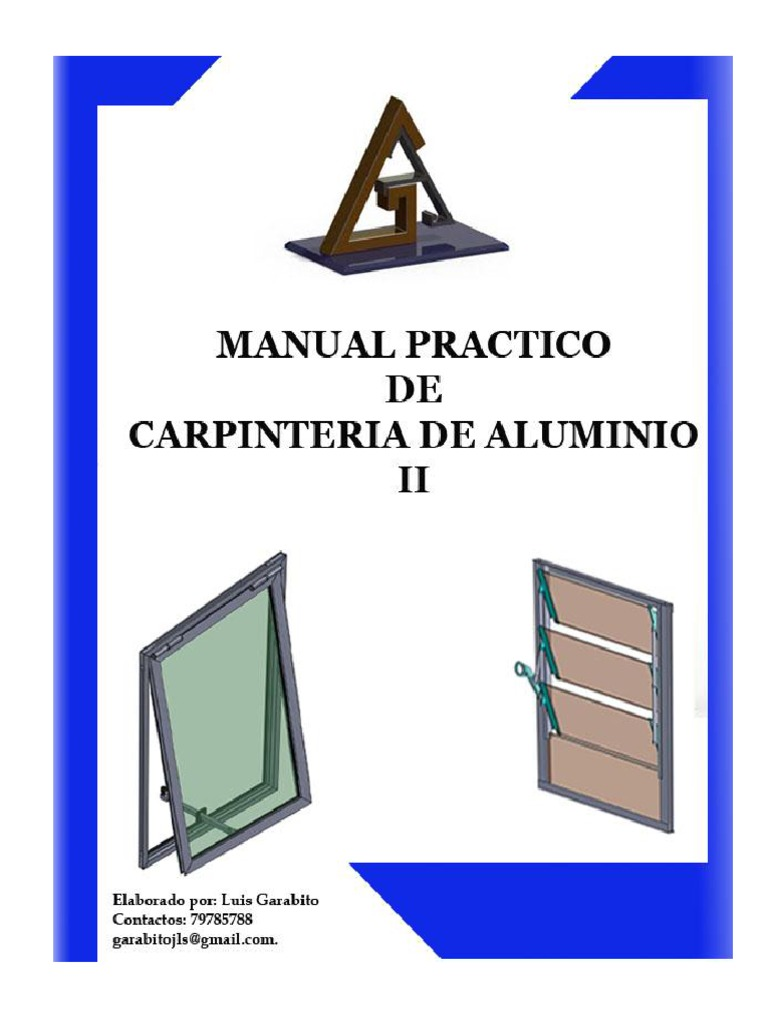 Manual de carpinteria aluminio.