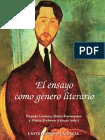 58156747 El Ensayo Como Genero Literario