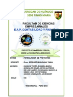 Proyecto de Aagricultura Ecologica