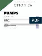 Mechanical Component -Pumps