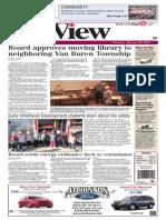 The Belleville View Oct. 10, 2013