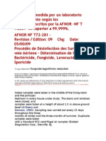 AFNOR NF T72-281 - Complete Document