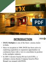 MOS Presentation on INOX