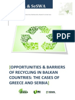 Report Recycling in Balkan Region