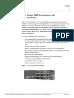 2960 - Lan Lite Models & Softwares