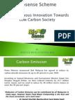 Towards Low Carbon Society