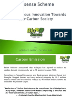 Towards Low Carbon Society