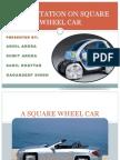 A Square Wheel Car