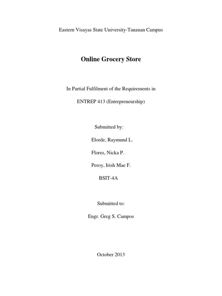 Online Grocery Store   Java Server Pages   Java Servlet