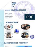 Computerized Enrollment System