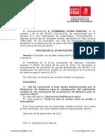 Preguntas Pleno-24-09-2012-Concesión de ayudas restauración patrimonio mueble en municipios