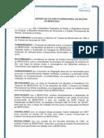 Protocolo Adesao Bolivia Ao Mercosul