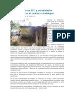 08/10/13 Libertad-oaxaca Suman Esfuerzos SSO y Autoridades Municipales en El Combate Al Dengue