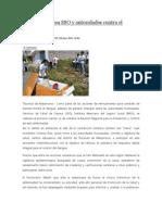 08/10/13 News Suman Esfuerzos SSO y Autoridades Contra El Dengue