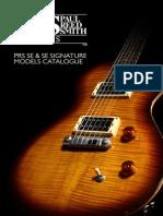 PRS SE Catalogue