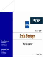 India Stratergy Enam