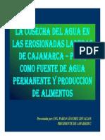 Agua - Cosecha Cajamarca