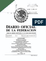 Ley de Amparo 2 Abril 2013 Diario Oficial