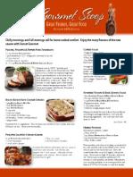 The Gourmet Scoop - October 2013