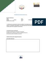 formato de INFORME DE DETECCIÓN INICIAL