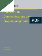 Guide de  Communications et Programmation du Checker 4G