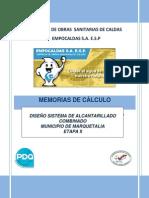 DISEÑO DE ALCANTARILLADO COMBINADO