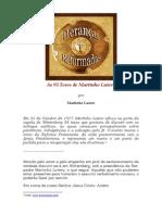 Página Heranças Reformadas - As 95 Teses de Martinho Lutero