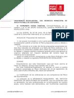24-09-2012-Propuesta Cambios en Ordenanza Aguas Alpuente