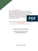 Educacion en La Era Digital