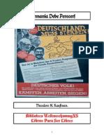 Alemania Debe Perecer