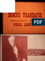 Domnul Trandafitr de Mihail Sadoveanu