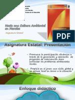 Asignatura Estatal Hacia Una Cultura Ambiental en Morelos