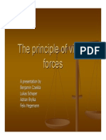 The Principle of Virtual Forces