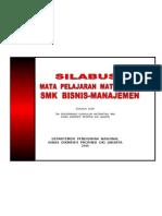 Silabus Math SMK Bisnis (Cover)
