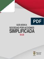 GUÍA BÁSICA SOCIEDAD POR ACCIONES SIMPLIFICADA SAS