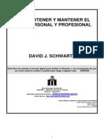 Como Obtener y Mantener El Exito Personal Profesional .DAVID SCHWARTZ . FULL